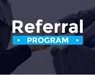 Referral program Banner