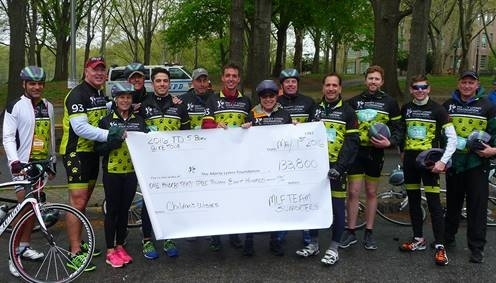Tekmark Participates in TD Five Boro Bike NYC Tour with Marty Lyons Foundation Team Image